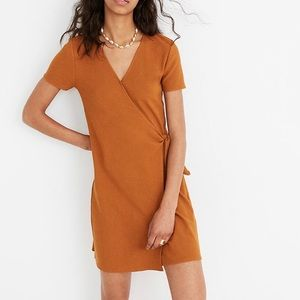 Madewell Dresses - Madewell Texture and Thread wrap dress
